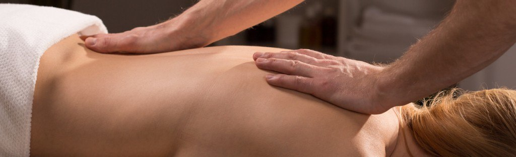 Massage durch einen Physiotherapeuten