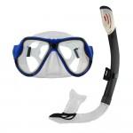 """Das Innovatives Premium Schnorchelset """"Snorkel Star"""" von Sportastisch hat eine 100%ig wasserdichte Taucherbrille."""