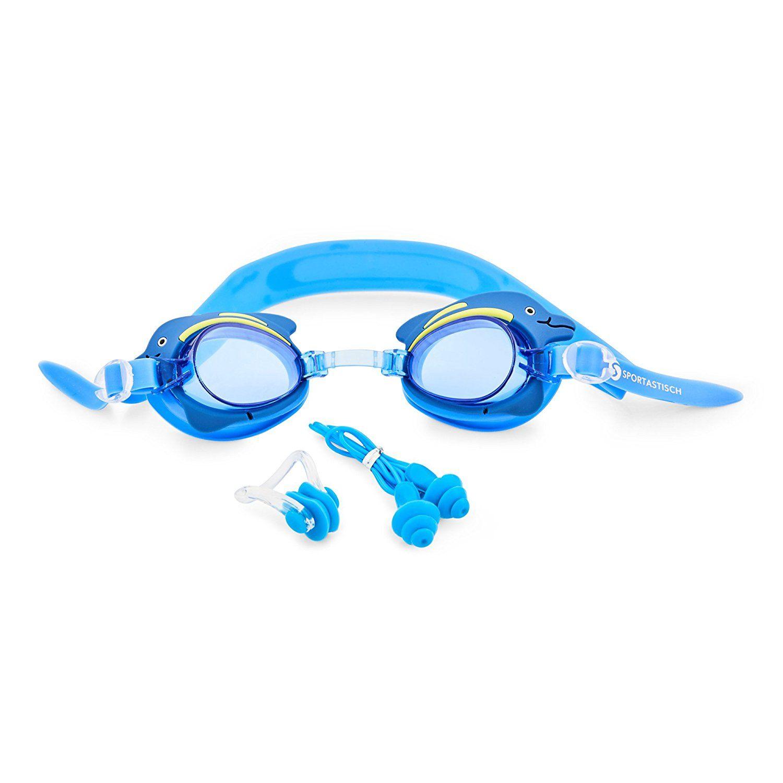 """Die Premium Kinder Schwimmbrille """"Swim Buddy Dolphin"""" von Sportastisch."""