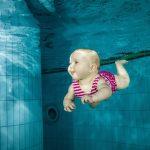 Das Babyschwimmen ist ein besonderer Moment.