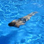 Abnehmen mit regelmäßigen Schwimmen.