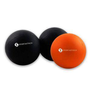 Das Sportastisch AUSGEZEICHNETE¹ Massageball-Sets mit Faszienball und Duoball hat eine 3-jährige Garantie.