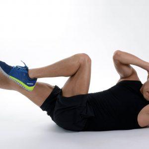 Effektive Übungen für die Bauchmuskeln.
