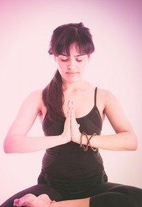 Yoga und Musik passen sehr gut zusammen.