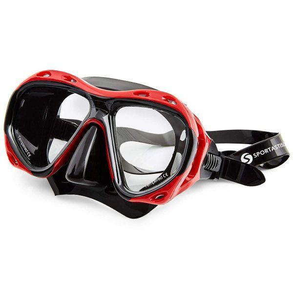 """Die Taucherbrille """"Redfish"""" von Sportastisch."""
