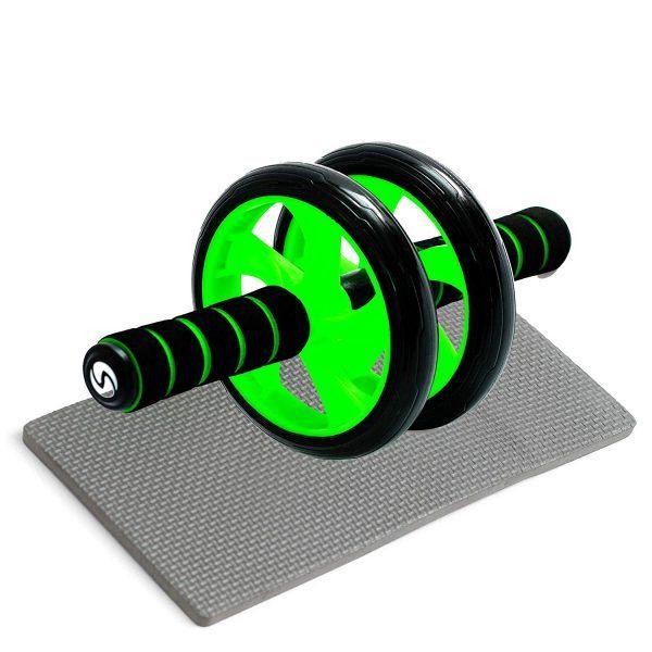 """Sportastisch Top-Produkt¹ Premium Bauchtrainer """"Ab Roller"""" mit Kniematte."""