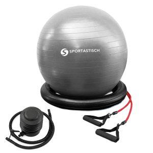 """Premium Gymnastikball """"Workout Ball"""" von Sportastisch."""