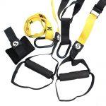 Der Schlingentrainer lässt sich sowohl beim Indoor-, als auch beim Outdoor-Sport verwenden.