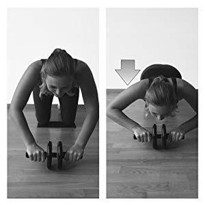 """Arme & Schultern mit dem """"Ab Roller"""" von Sportastisch trainieren."""