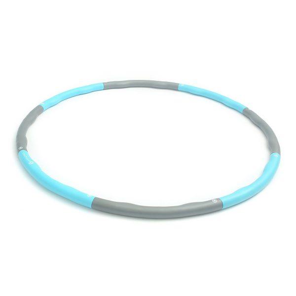 Hula Hoop Reifen gibt es in verschiedenen Materalien.