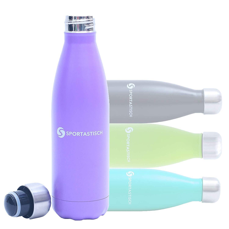 """Die Trinkflasche """"Vacu Drink"""" von Sportastisch."""