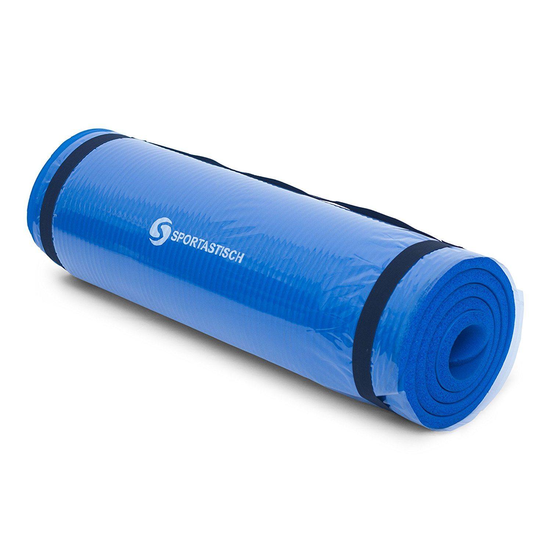 gymnastikmatte gym mat pro von sportastisch blau verpackt. Black Bedroom Furniture Sets. Home Design Ideas