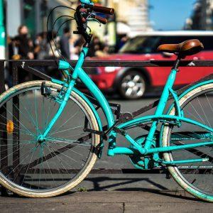 Schließen Sie Ihr Fahrradschloss immer ab.