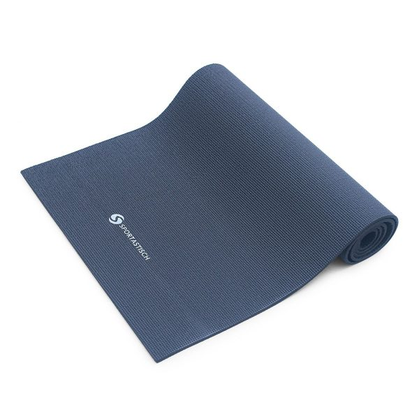 """Die Premium Yogamatte """"Happy Yoga"""" von Sportastisch ist aus 100% recyclebarem Material."""