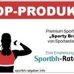 """Der Sport BH """"Sporty Bra"""" von Sportastisch wurde zum Topprodukt bei Sportbh-Ratgeber ausgezeichnet."""