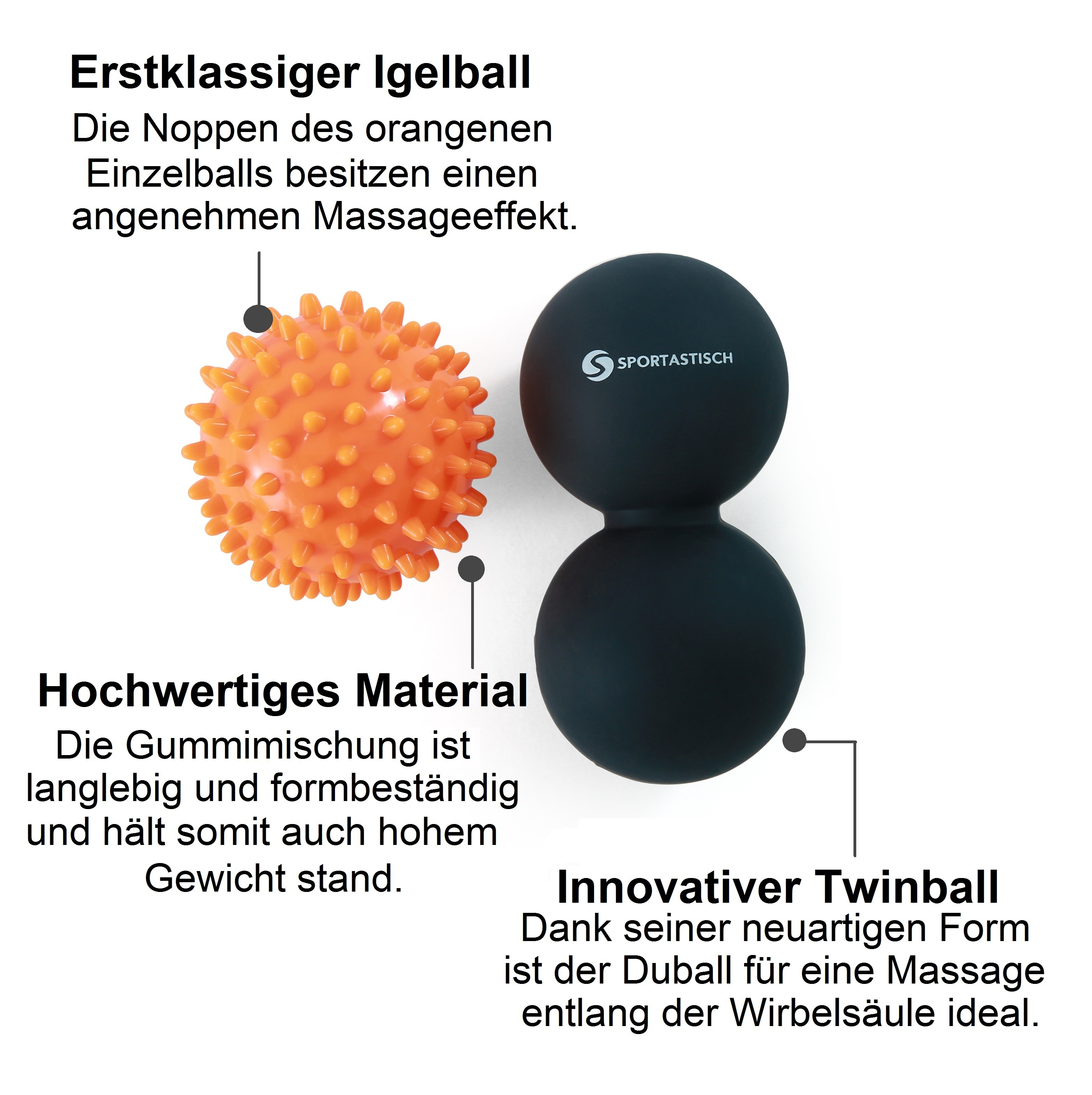 "Massageball Set ""Take a break"""
