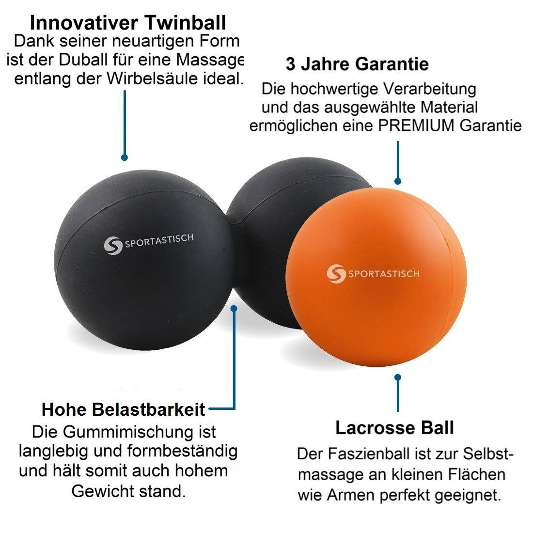 "Massageball Set ""Deep Relax"""