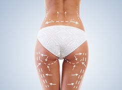 Faszienrolle im Kampf gegen Cellulite
