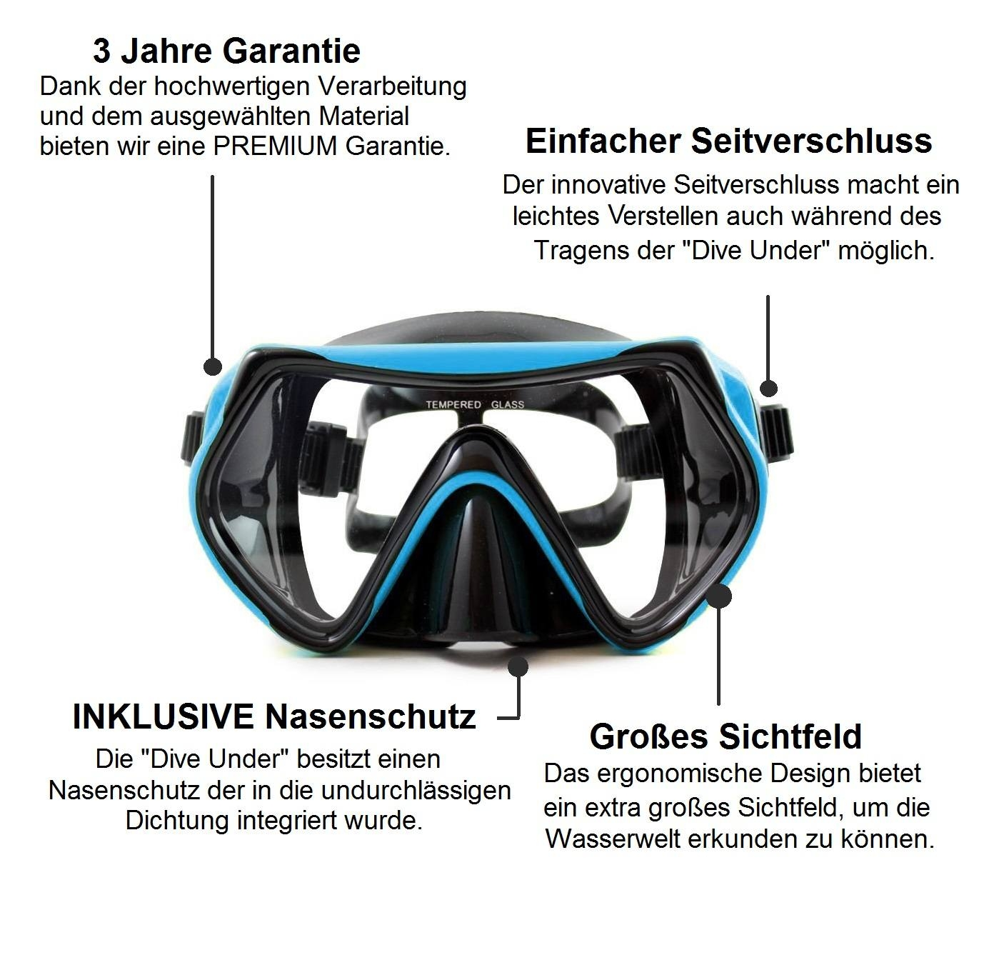 "Taucherbrille ""Dive Under"""