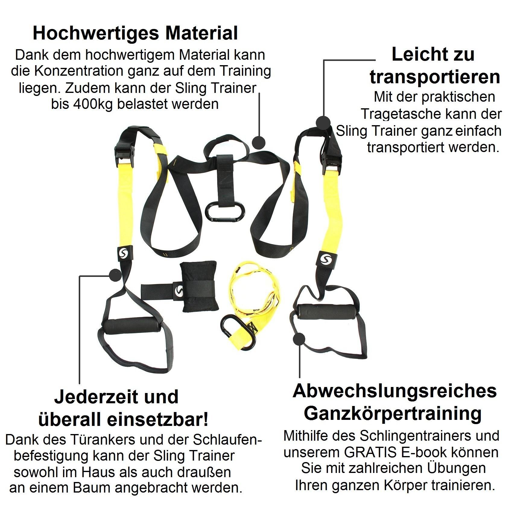 "Premium Schlingentrainer ""Sling Trainer Pro"""
