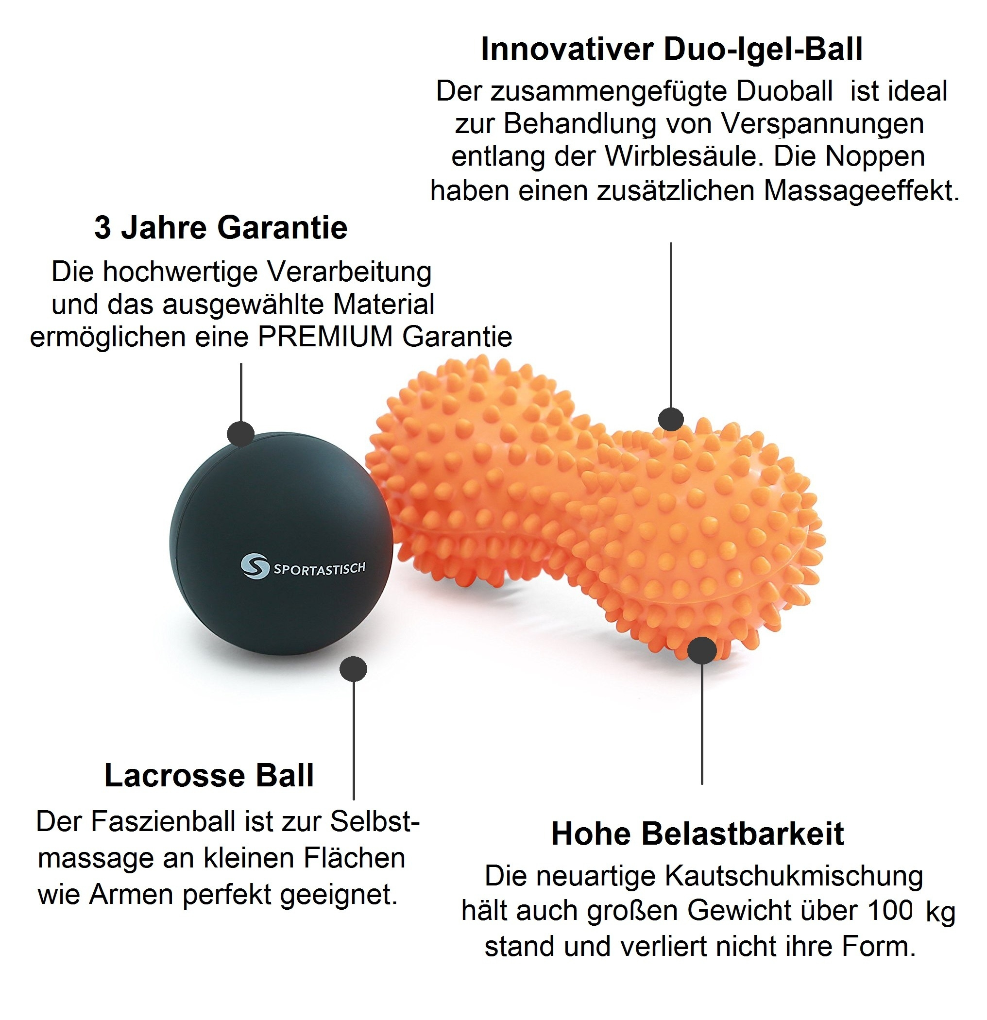 "Massageball Set ""Well-Being"""